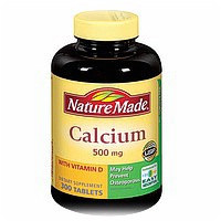 Nature Made Calcium 500 mg Tablets With Vitamin D 300 ct