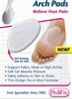 Pedifix Pedi-GEL Arch Pads - 2 per pack