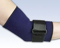 Compressive Neoprene Elbow Sleeve with Loop Lock