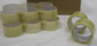 """2"""" X 55 YARD CLEAR PACKING TAPE : 36 rolls"""