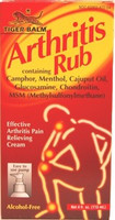 Tiger Balm Arthritis Rub 4oz