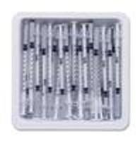 BD Allergist Tray Syringe & Needle