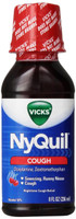 Vicks Nyquil Cough Nighttime Relief Cherry Flavor Liquid 8 Fl Oz