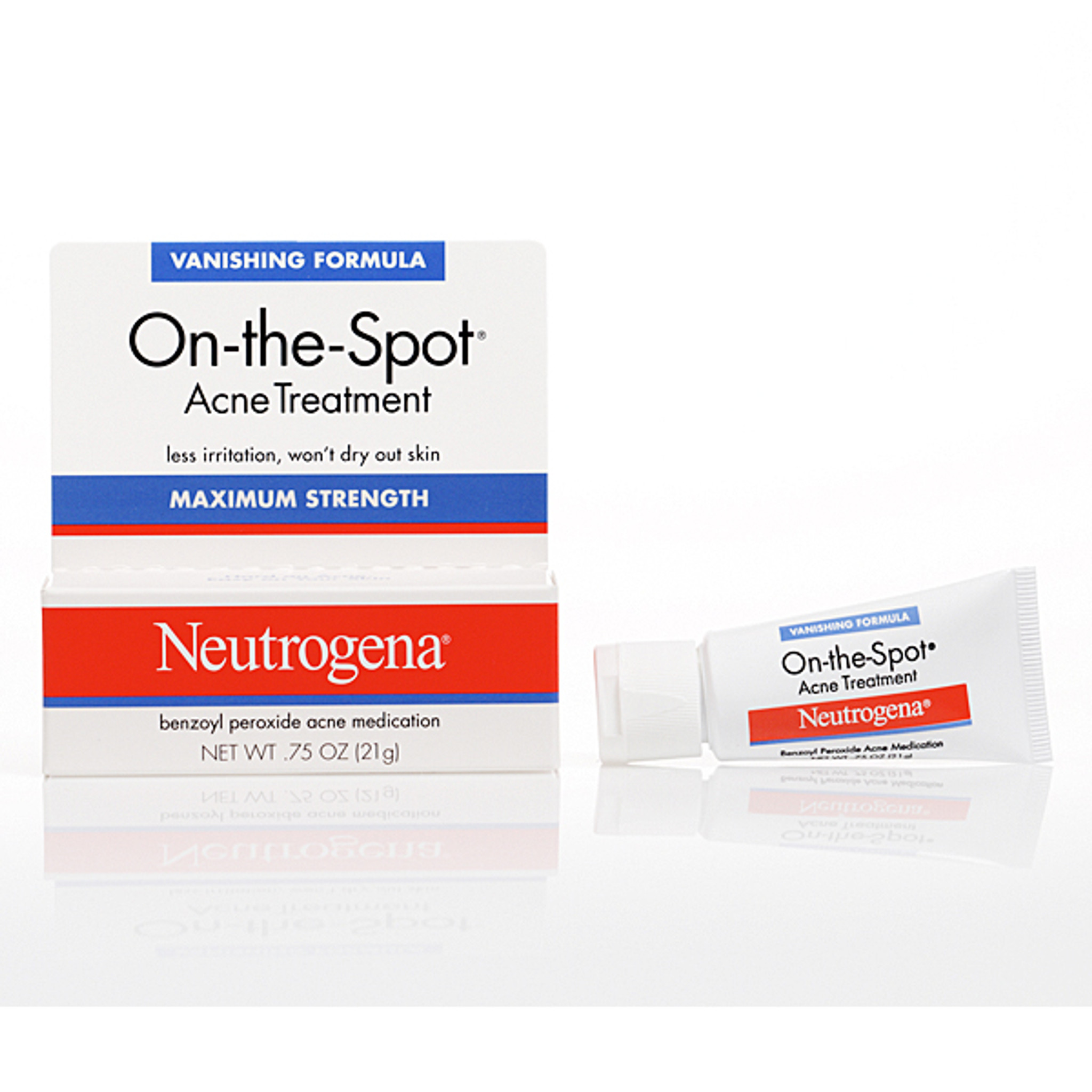 Neutrogena On The Spot Acne Treatment Vanishing Cream Formula