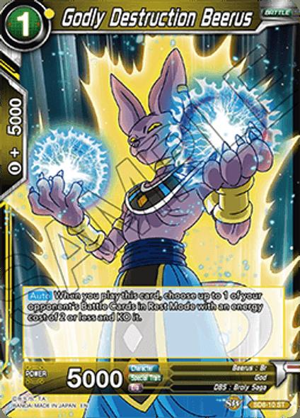 SD8-10 Godly Destruction Beerus