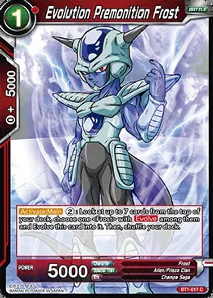 BT1-017 Evolution Premonition Frost