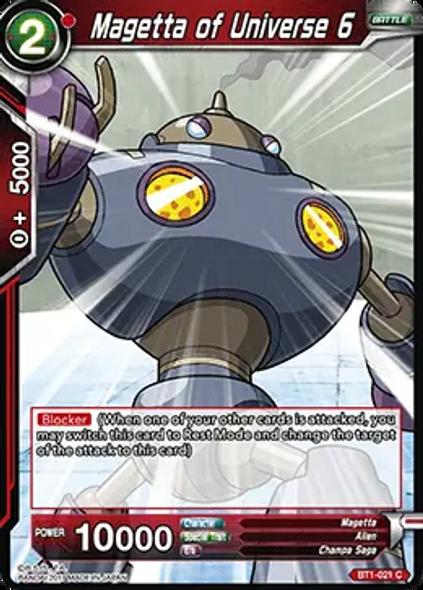 BT1-021 Magetta of Universe 6