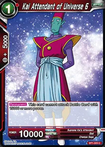BT1-023 Kai Attendant of Universe 6