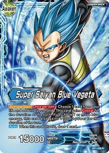 BT1-028 Vegeta/Super Saiyan Blue Vegeta