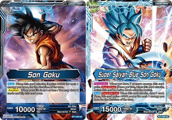 BT1-030 Son Goku/Super Saiyan Blue Son Goku