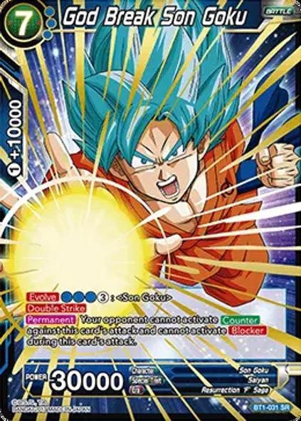BT1-031 God Break Son Goku
