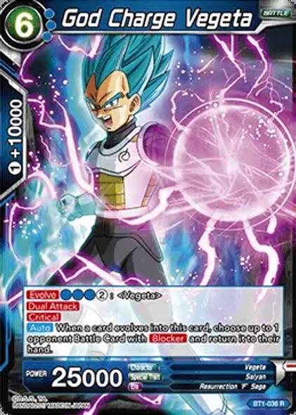 BT1-036 God Charge Vegeta