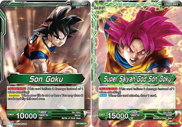 BT1-056 Son Goku/Super Saiyan God Son Goku
