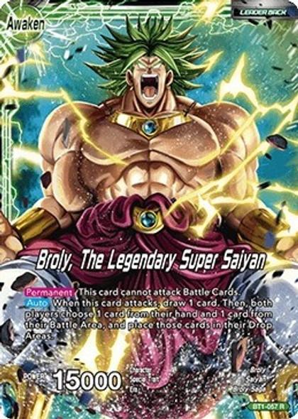 BT1-057 Broly/Broly, The Legendary Super Saiyan