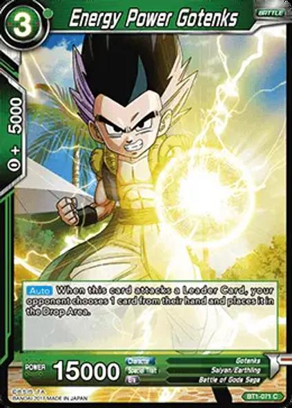 BT1-071 Energy Power Gotenks