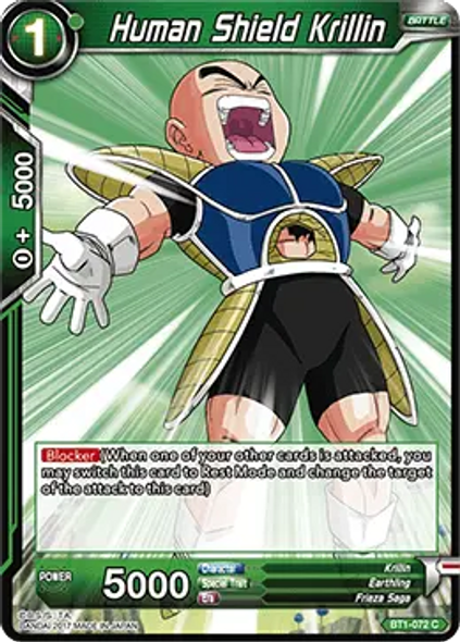 BT1-072 Human Shield Krillin