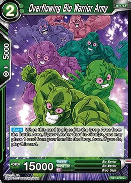 BT1-078 Overflowing Bio Warrior Army