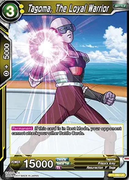 BT1-093 Tagoma, The Loyal Warrior