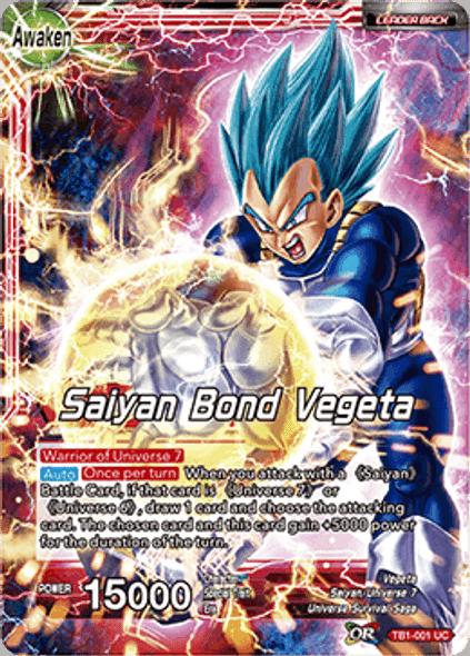 TB1-001 Vegeta / Saiyan Bond Vegeta