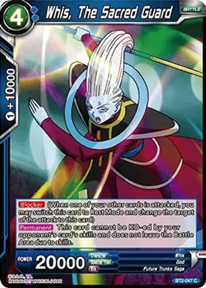 BT2-047 Whis, The Sacred Guard