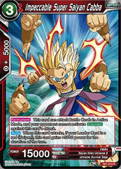 TB1-010 Impeccable Super Saiyan Cabba