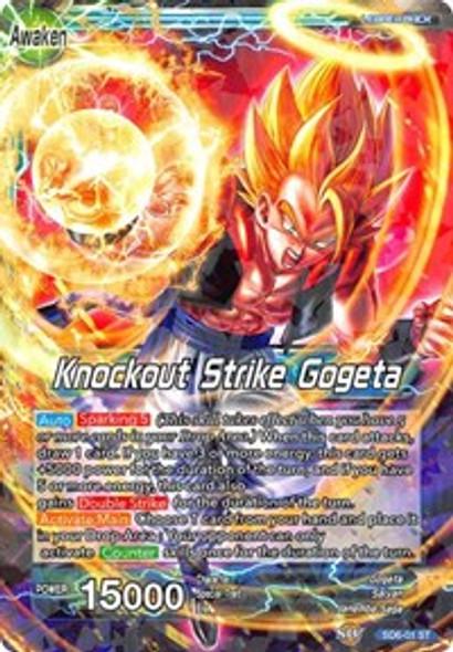 SD6-01 Gogeta / Knockout Strike Gogeta