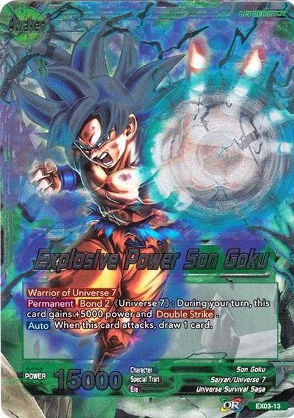 EX03-13 Son Goku / Explosive Power Son Goku