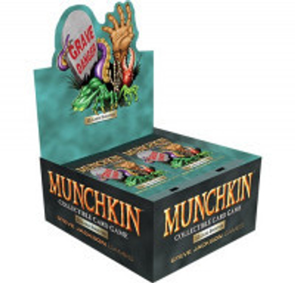 Munchkin Collectable Card Game - Booster Box Grave Danger (24 Packs)