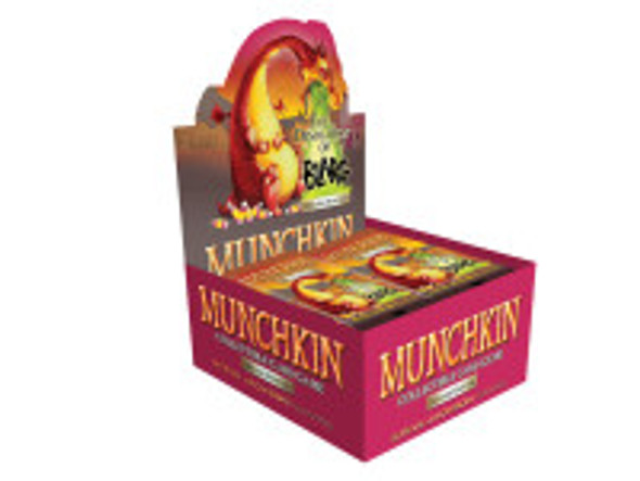 Munchkin Collectable Card Game - Booster Box The Desolation of Blarg (24 Packs)