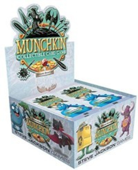 Munchkin Collectable Card Game Booster Box (24 Packs)