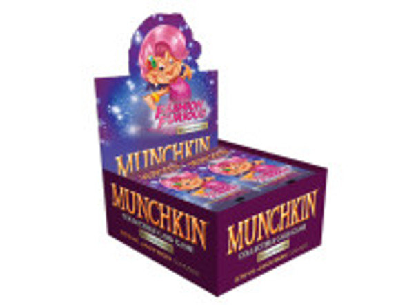 Munchkin Collectable Card Game - Booster Box Fashion Furious (24 Packs)