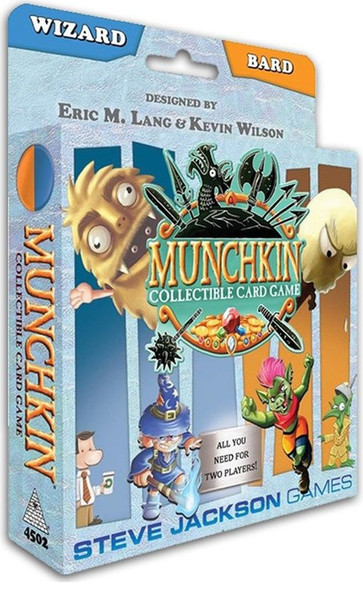 Munchkin Collectable Card Game Wizard and Bard Starter Set