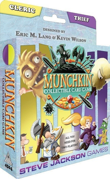 Munchkin Collectable Card Game Cleric and Thief Starter Set