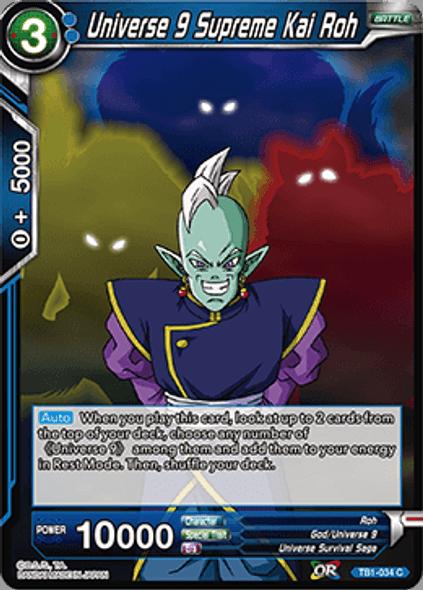 TB1-034 Universe 9 Supreme Kai Roh