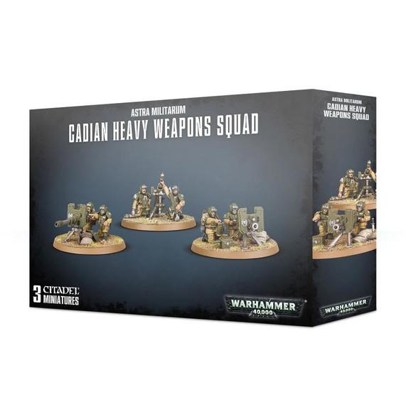 Astra Militarum Cadian Heavy Weapon Squad