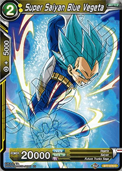 BT7-076 Super Saiyan Blue Vegeta