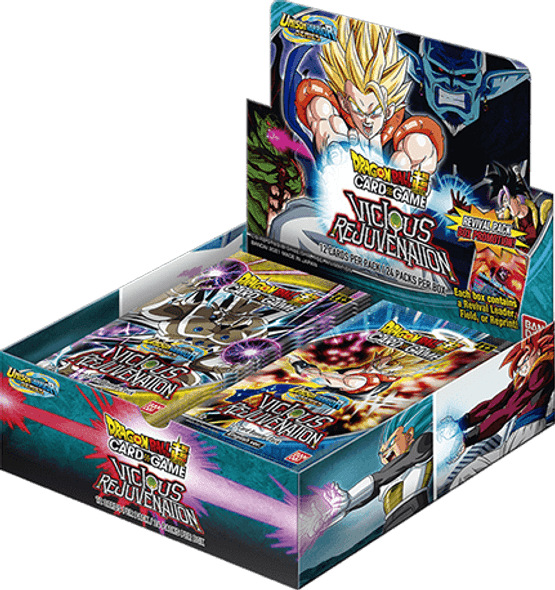 Feb Special - Dragon Ball Super Card Game Unison Warrior Series 12 UW3 Booster Display Vicious Rejuvination (B12)