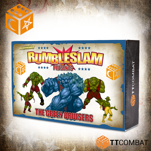 RUMBLESLAM - THE GREEN BRUISERS
