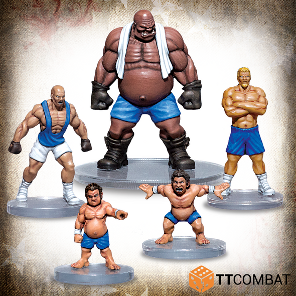 RUMBLESLAM - THE HEAVY POUNDERS