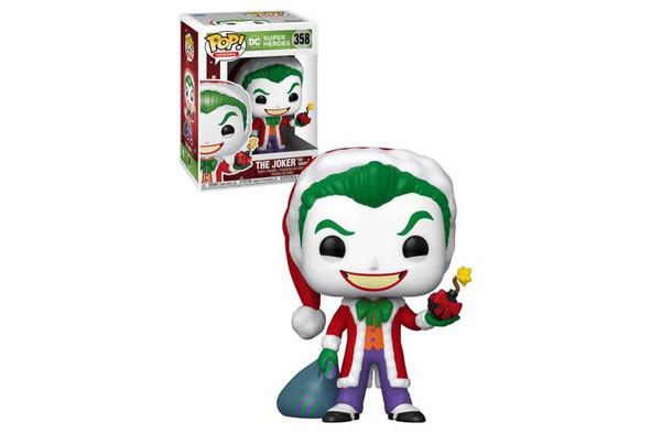 DC Super Heroes - The Joker as Santa Pop! Vinyl (358)