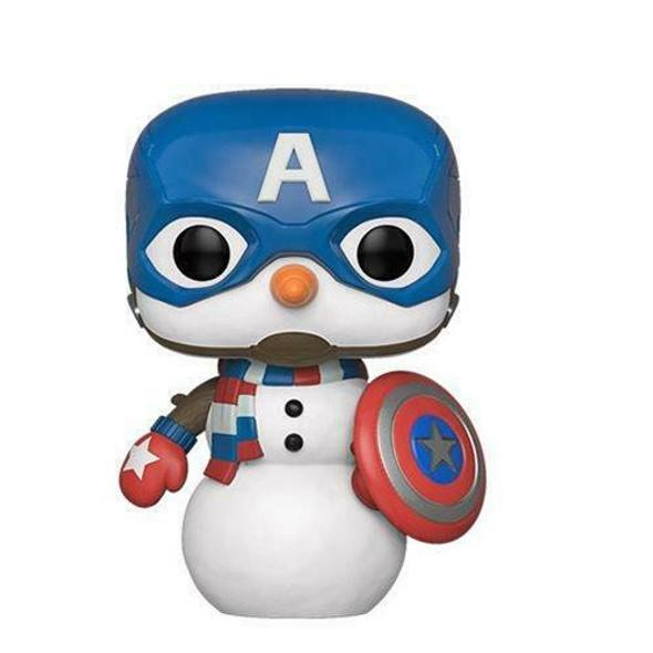 Marvel - Cap Snowman Bobble-Head (532)