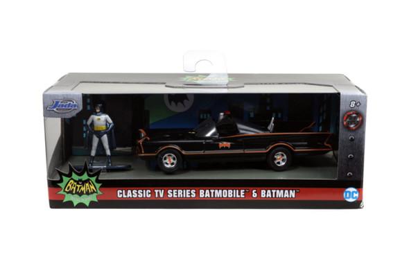 Batman (1966) - Batmobile with Figure 1:32 Scale Hollywood Ride