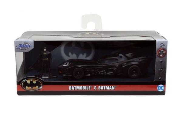 Batman (1989) - Batmobile with Figure 1:32 Scale Hollywood Ride
