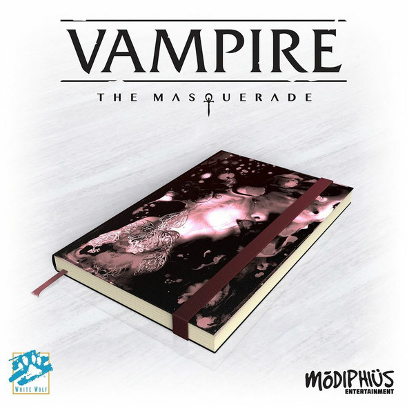Vampire the Masquerade 5th Edition Notebook (On Demand)
