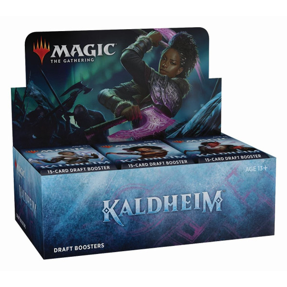 Magic Kaldheim Draft Booster Display