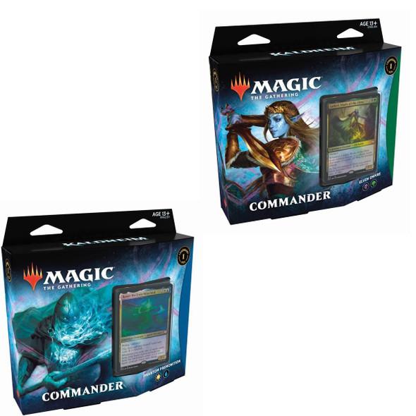 Magic Kaldheim Commander Deck x2