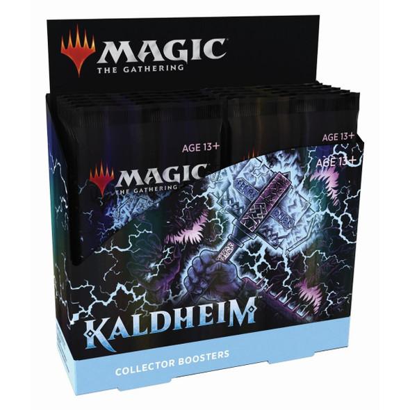 Magic Kaldheim Collector Booster Display