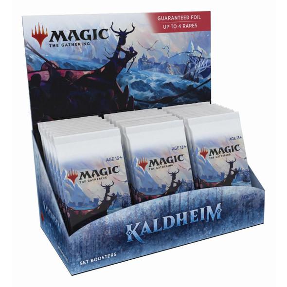 Magic Kaldheim Set Booster Display
