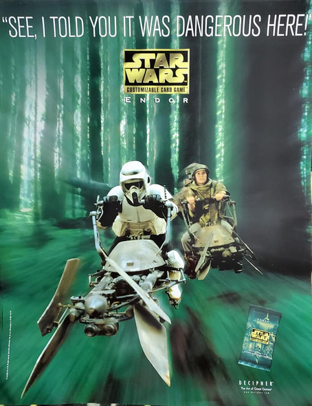 Star Wars Large Collector Poster: Endor (1999)