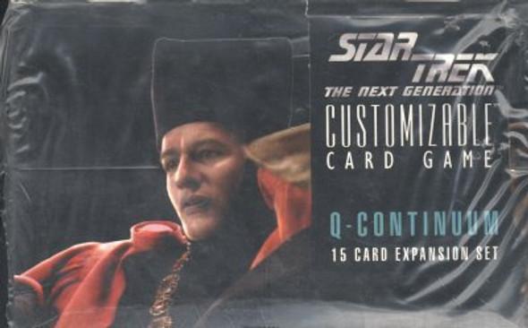 Star Trek Next Generation CCG (Decipher) Q-Continuum Booster Box (1996)